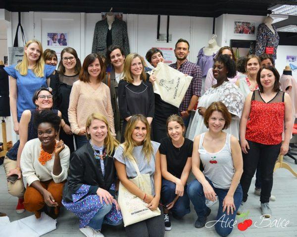 alice balice | soirée lancement patrons louis antoinette paris | couture | blogueuse