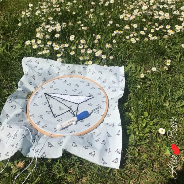 alice balice   punch needle   cercle à broder   test produit