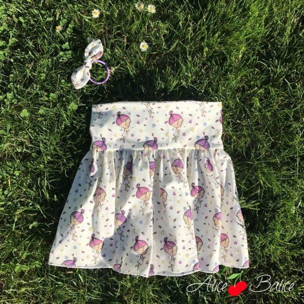 alice balice | coupons de saint pierre | jersey UV magique | jupes plissées qui tournent
