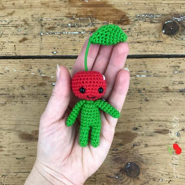 alice balice | tutoriel crochet | bonhomme cerise | cherry little | gratuit