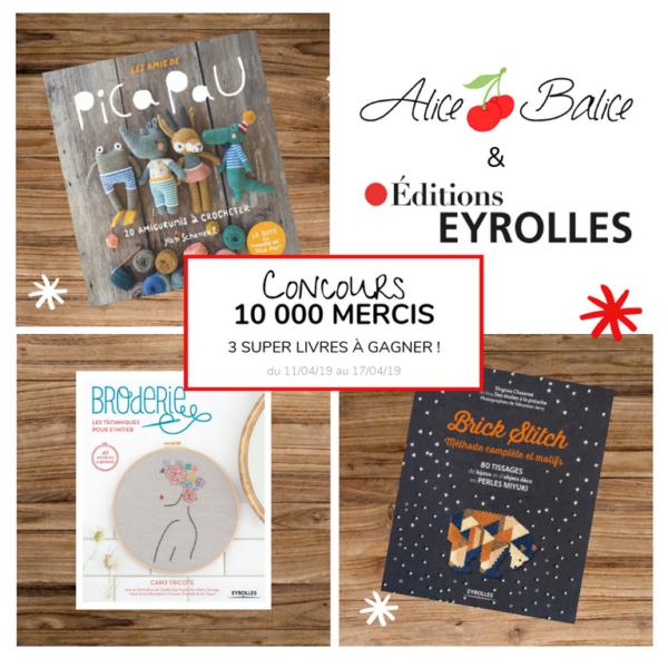 alice balice | 10 concours DIY pour fêter mes 10000 followers sur Facebook | eyrolles