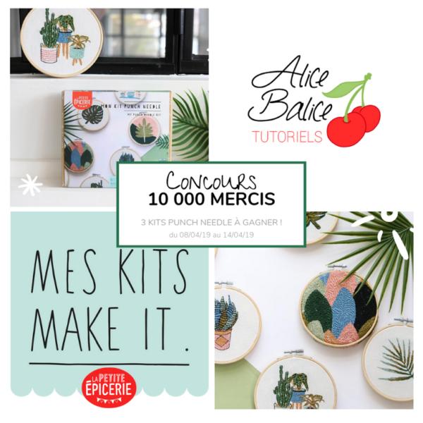 alice balice | 10 concours DIY pour fêter mes 10000 followers sur Facebook | la petite épicerie