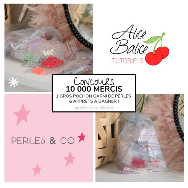 alice balice | 10 concours DIY pour fêter mes 10000 followers sur Facebook | perles & co