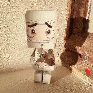 agent paper | alice balice ambassadrice | origami | jouet | deco | papier