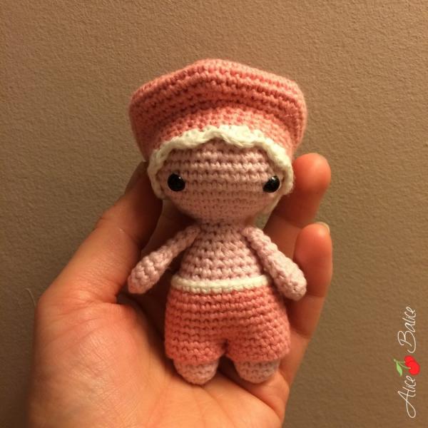 amigurumi | crochet | peluche | hook | cercle magique | p'tit pouce | alice balice | kawai