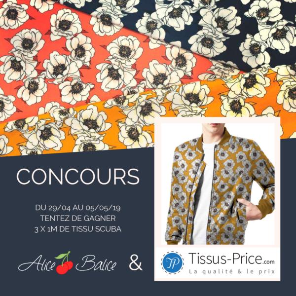 alice balice | partenariat | tissus price